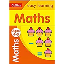 Maths Ages 4-5: Collins Easy Learning (Collins Easy Learning Preschool)