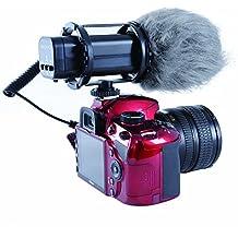 Movo VXR300 Micrófono Estereofónico de Condensador Profesional HD X/Y para DSLR Cámaras de Video