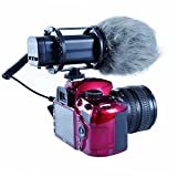Movo VXR300 HD Professional Kondensator X/Y Stereo-Video-Mikrofon für DSLR Videokameras