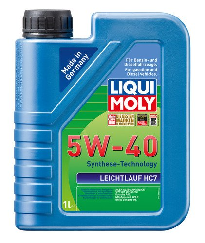 Liqui Moly Leichtlauf HC7 5W-40 Petrol/Diesel Engine Oil (1 L)