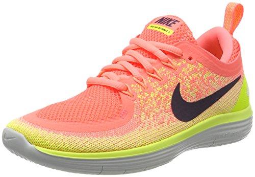 size 40 82162 1e522 Nike Free RN Distance 2, Zapatillas de Running para Mujer, Multicolor (Lava  Glow
