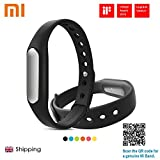 Xiaomi 2015 Brand New Optimized Bracelet Lightweight IP67 Smart Wireless Bluetooth4.0 Healthy Sports Miband for Mi Note/Pro Mi4 Redmi/Redmi2 Note/Note2 4G iPhone 5S 6 6 Plus 6S 6S Plus with IOS7.0 or Above Sold By SuperStore_Electronics