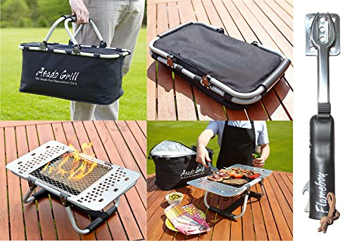 517T2SxlWqL - B³ Design ASADOHOLIDAY1 Asado Holiday Barbeque Hamper Kit
