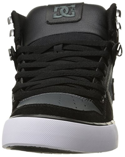 DC SPARTAN HI WC SE D0303358, Sneaker uomo Black/Dark Grey