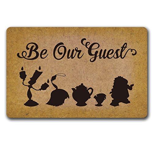 atte Werden Unsere Gäste Fußmatte Wohnzimmer Küche Teppiche Home Decor 40X 60cm ()