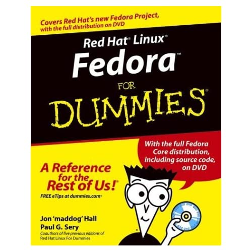 Red Hat Linux Fedora For Dummies by Jon Hall (2003-12-26)
