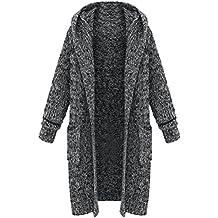 Gilet manteau long femme