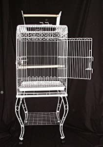Bird Cage Zarzis Parrot Complete With Stand