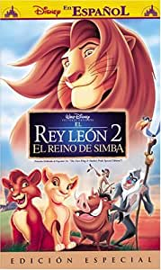 Lion King 2: Simba's Pride [VHS] [Import USA]