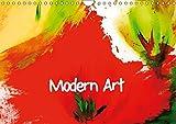 Modern Art (Wandkalender 2019 DIN A4 quer): Abstrakte Kunst von Maria-Anna Ziehr (Monatskalender, 14 Seiten ) (CALVENDO Kunst)