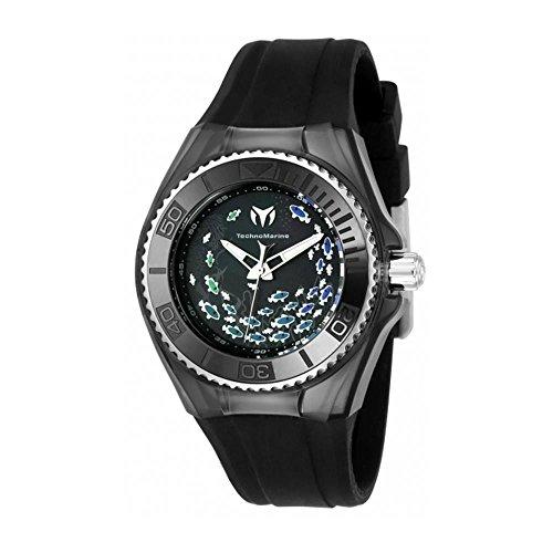 technomarine-cruise-damen-armbanduhr-40mm-armband-silikon-schwarz-gehause-edelstahl-batterie-115402