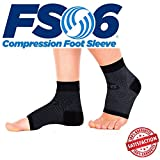 FS6 Plantar Fasciitis Foot Compression Sleeve (One Colour / UK 9.0 - 13.0) by Canonbury Products immagine
