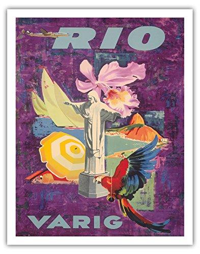 rio-bresil-compagnies-aeriennes-brasilien-varig-affiche-ancienne-vintage-companie-aerienne-poster-av