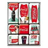 Coca-Cola Boite de 9 mini-magnets