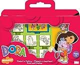 Multiprint - 7828 - Loisirs Creatif - Valisette 7 Tampons -  Dora...