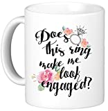 Oh, Susannah hace este anillo MAKE ME LOOK Engaged? ml taza-blanco caja de regalo hace este anillo MAKE ME LOOK Engaged?