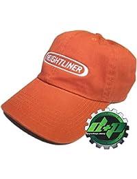 Diesel Power Plus Freightliner Dad Rust Orange hat semi Trucker Base Ball  Cap Truck Gear cat 772dd6ecaa8d