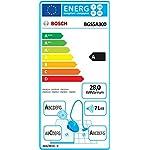 Bosch Staubsauger beutellos Relaxx'x ProSilence Plus BGS5A300, leise, ideal für Allergiker, Hygiene-Filter, Bodendüse…