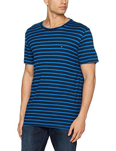 Tommy Jeans Herren T-Shirt Blau (Skydiver)