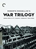 Criterion Collection: Rossellini's War Trilogy [Import USA Zone 1]