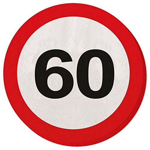 20 motivos SIGNOS servilletas TRÁFICO 60 aniversario