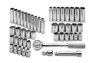 SK 4147–647Stück 1/2Zoll Antrieb 6Point Standard und metrisches Sockel Super Set
