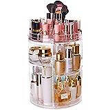 Li Ye Feng Shop Kosmetische Aufbewahrungsbox Transparent Acryl Aufbewahrungsbox Drehregal Kommode Aufbewahrungsbox Hautpflege Finishing Box 25 * 36 cm (9,8 * 14,1 Zoll)