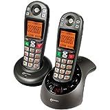 Geemarc DECT285-2ANTIF - 2 teléfonos fijos inalámbricos DECT con contestador