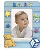 Hama Portrait Bilderrahmen Baby Boy, 10 x 15 cm, blau