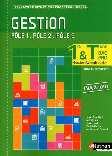 Gestion (TVA À JOUR) - 1re et Term Bac Pro Gestion-Administration