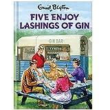 Enid Blyton Five Enjoy Lashings Of Gin Birthday Card