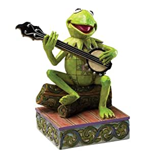 Disney Traditions Kermit the Frog Find Your Rainbow Connection Figurine