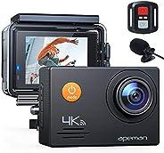 APEMAN Action Cam A79 PRO, 4K 20MP WiFi Impermeabile 40M con Telecomando e Microfono Esterno Fotocamera Subacq