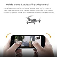 Sedeta 360 degree Rolling App Control Headless Flying Quadcopter UAV One Key Take Off 3D Flips USB Charge LED Lighting Altitude Hold Quadcopter Aircraft Durable HD Camera