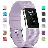 Gogoings Bracelet pour Fitbit Charge 2 - Bracelet Silicone Bande de Rechange...
