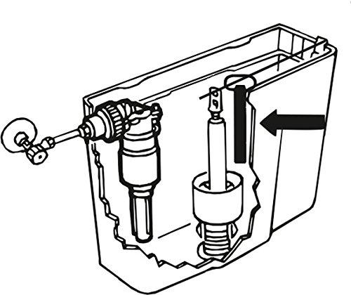 Cornat TEC361199 WC-Wassersparer für Spülkasten
