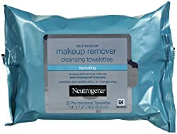 Neutrogena Cleansing Towelettes, Makeup Remover, Hydrating