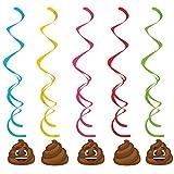 Show Your Emojions Hanging Swirls (5 ct)