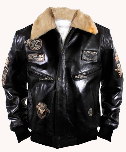 aviatrix-us-air-force-g-1-mens-bomber-pilot-military-aviator-style-leather-jacket-size-xl