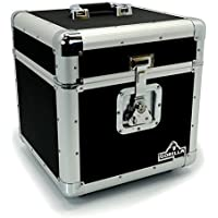 "Gorilla LP100 Holds 100pcs 12"" Vinyl LP 12"" Record Box Storage Case inc Lifetime Warranty"