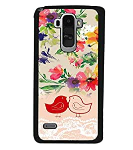 PrintVisa Plastic Multicolor Back Cover For LG G4 Stylus H630D