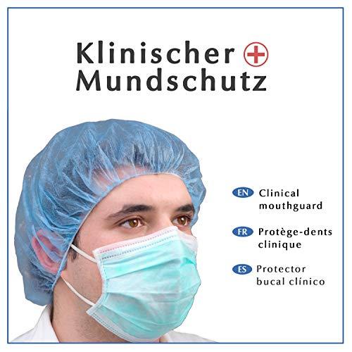 Dr. Mosers COROSAVE OP protector bucal -  desechable   Calidad médica ≥ 98% de rendimiento del filtro Tipo II,  de 3 capas   infección de gotas   Máscara higiénica