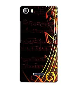 MICROMAX CANVAS 5 MUSIC Back Cover by PRINTSWAG