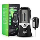 AMERTEER Electric Pencil Sharpener - AC Powered with Auto-Stop Feature,Durable and Portable for Classroom & Office,Safe Students Kids