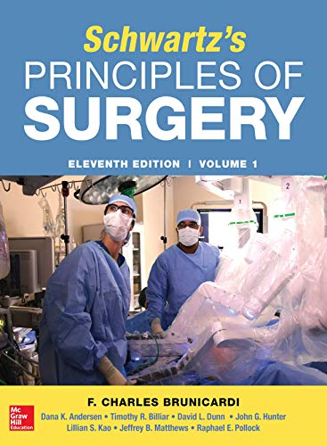 Schwartz's Principles of Surgery 11th Edition