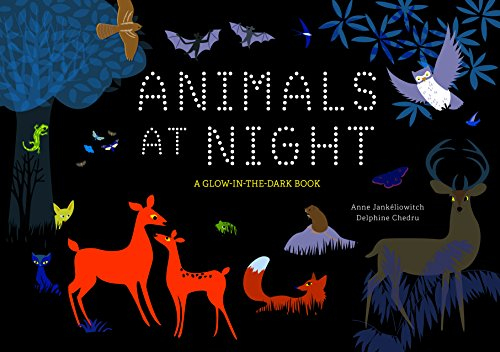 Animals at Night: A Glow-in-the-Dark Book