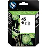 HP 45XL Schwarz Original Druckerpatrone mit hoher Reichweite für HP Deskjet, HP Officejet
