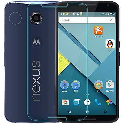 Chevron Anti-Shatter Tempered Glass Screen Protector For Motorola Google Nexus 6  available at amazon for Rs.125