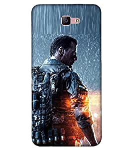 Takkloo hollywood Hero ( Actor of action, warrior of movie, man with weapon, actor in rain, muscular guy) Printed Designer Back Case Cover for Samsung Galaxy A3 :: Samsung Galaxy A3 (2017)
