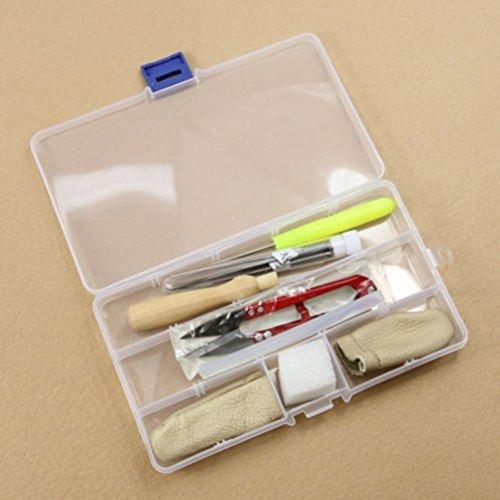 BESTOMZ Werkzeug kit Wollfilz Needle DIY Zubehör Starter Set (Zufällige Farbe)